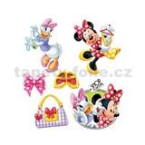 Samolepky na stenu detské - Minnie and Daisy 30 x 40 cm
