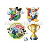 Samolepky na stenu detské - Mickey, Donald, Goofy 30 x 40 cm