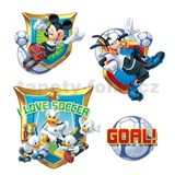 Samolepky na stenu detské - Mickey and Donald 30 x 40 cm