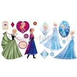 Samolepky Frozen Anna a Elsa