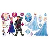 Samolepky Anna a Elsa Frozen