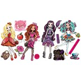 Samolepky bábiky Monster High