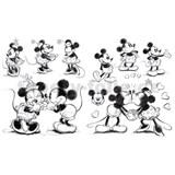 Samolepky Mickey Mouse
