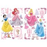 Samolepky na stenu Disney Princezné rozmer 45 x 65 cm