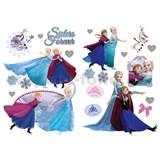 Samolepky na stenu Frozen - sestry navždy rozmer 45 x 65 cm