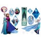 Samolepky na stenu Frozen - Anna & Elsa rozmer 45 x 65 cm