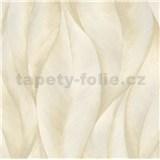 Vliesové tapety na stenu IMPOL New 21 listy béžovo-zlaté
