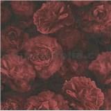 Vliesové tapety IMPOL New Studio kvetinový vzor červeno-čierny