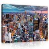 Obraz na stenu New York v búrke 100 x 120 cm