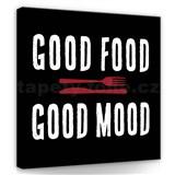 Obraz na stenu dobré jedlo 30 x 30 cm