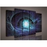 Obraz na plátne hviezdne nebo modré 150 x 100 cm