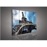 Obraz na plátne Eiffelova veža 120 x 80 cm