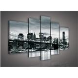 Obraz na plátne Brooklyn Bridge 170 x 100 cm