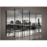 Obraz na plátne Brooklyn Bridge 150 x 100 cm