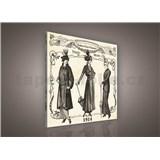 Obraz na stenu Paris mode 80 x 80 cm