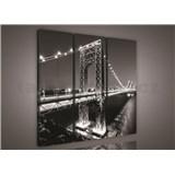 Obraz na plátne most 90 x 80 cm