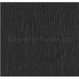 Vliesová tapety na stenu Opal štruktúra čierna s jemným ligotom