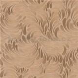 Vliesové tapety na stenu Opulence moderný vzor medený-hnedý