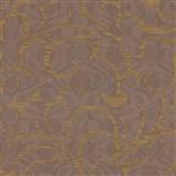 Vliesové tapety na stenu Opulence abstraktný vzor medený-hnedý