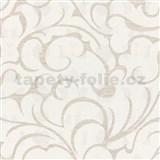 Vliesové tapety na stenu Opulence abstraktný vzor svetlo hnedý