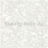 Vliesové tapety na stenu Opulence rastlinný vzor biely