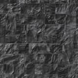 Vliesové tapety na stenu Origin - kameň obkladový čierno-sivý