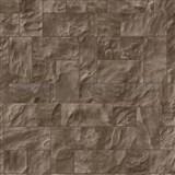 Vliesové tapety na stenu Origin - kameň obkladový hnedý