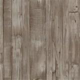 Vliesové tapety na stenu Origin - drevené dosky hnedé