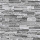Vliesové tapety na stenu Origin - kameň pieskovec sivý