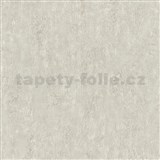 Tapety Origin - jednofarebná kovový vzhľad krémový