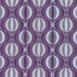 Tapety na stenu Orpheo - retro cibule fialové