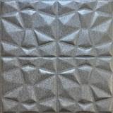 Samolepiace penové 3D panely rozmer 70 x 70 cm, diamant sivý