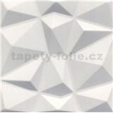 3D panel XPS DIAMANT biely rozmer 50 x 50 cm