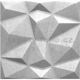 3D panel XPS DIAMANT BETÓN svetlo sivý 50 x 50 cm
