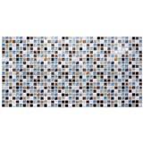 Obkladové 3D PVC panely rozmer 955 x 480 mm mozaika Island modrá