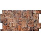 Obkladové 3D PVC panely rozmer 980 x 498 mm ukladaný kameň prírodný