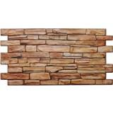 Obkladové 3D PVC panely rozmer 980 x 498 mm kameň karneolový