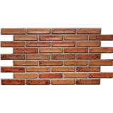 Obkladové 3D PVC panely rozmer 971 x 498 mm tehla originál