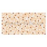 Obkladové 3D PVC panely rozmer 955 x 480 mm mozaika hnedá