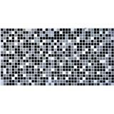 Obkladové 3D PVC panely rozmer 955 x 480 mm mozaika čierna