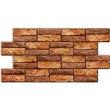 Obkladové 3D PVC panely rozmer 955 x 476 mm, hrúbka 0,5 mm, obkladový kameň prírodný