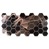 Obkladové 3D PVC panely rozmer 973 x 492 mm, hrúbka 0,2 mm, 3D Gravity