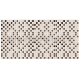 Obkladové 3D PVC panely rozmer 955 x 480 mm mozaika hnedo-béžová