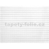 Obkladové 3D PVC panely rozmer 440 x 580 mm mozaika biela matná