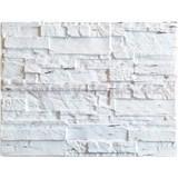 Obkladové 3D PVC panely rozmer 440 x 580 mm ukladaný kameň krémový