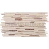 Obkladové 3D PVC panely rozmer 953 x 478 mm, hrúbka 0,4mm, ukladané dubové drevo