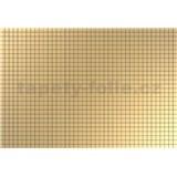 Obkladové 3D PVC panely rozmer 944 x 645 mm, hrúbka 0,6mm, obklad zlatá mozaika s čiernou špárou