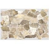 Obkladové 3D PVC panely rozmer 984 x 633 mm, hrúbka 0,6mm, ukládaný kameň béžový
