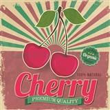 Retro tabule Cherry 30 x 30 cm