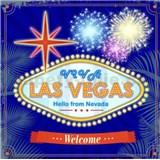 Retro tabule Las Vegas 30 x 30 cm
